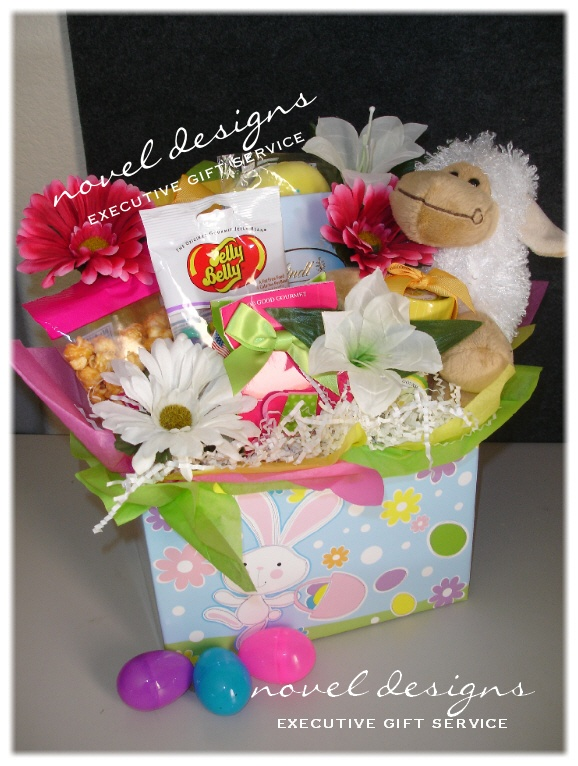 Custom seasonal gift baskets las vegas gift basket delivery novel designs llc of las vegas easter goodies gift basket negle Image collections
