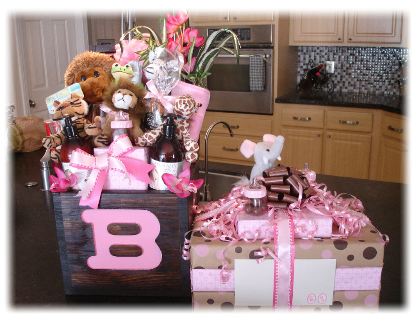 Baby Gift Baskets Las Vegas : Unique new baby girl gift baskets operation truckers