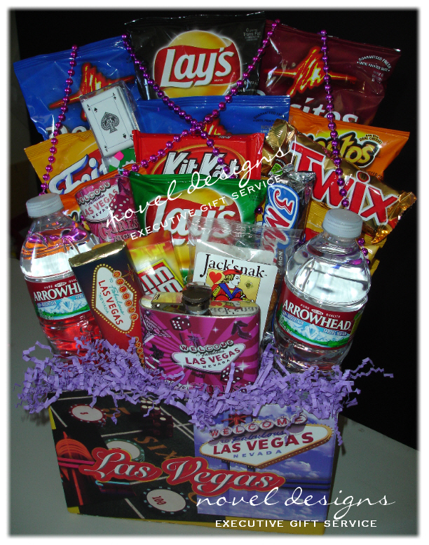 Novel Designs Llc Of Las Vegas Weekend Her Gift Basket Baskets Delivery Custom