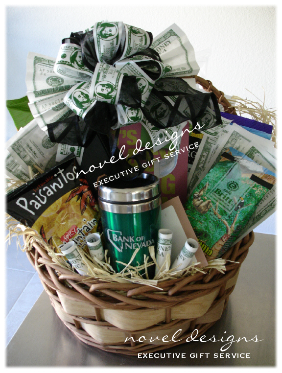 Custom Theme Gift Baskets Las Vegas Gift Basket Delivery