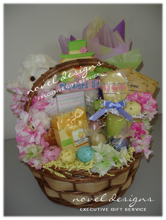 Custom seasonal gift baskets las vegas gift basket delivery novel designs llc of las vegas custom rr easter basket las vegas holiday gift negle Image collections