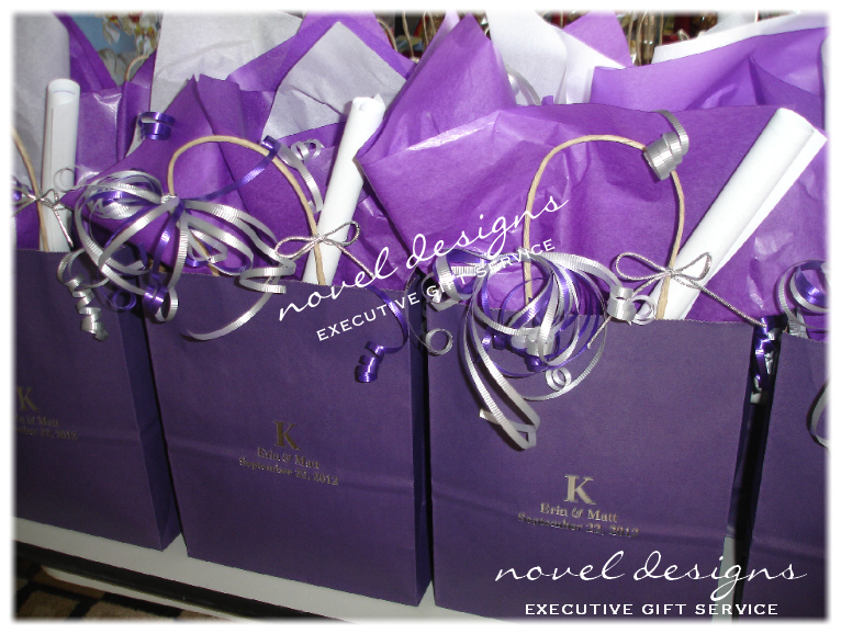 Vegas Wedding Gift Bag Ideas : Novel Designs, LLC of Las Vegas Las Vegas Wedding Gift Bags