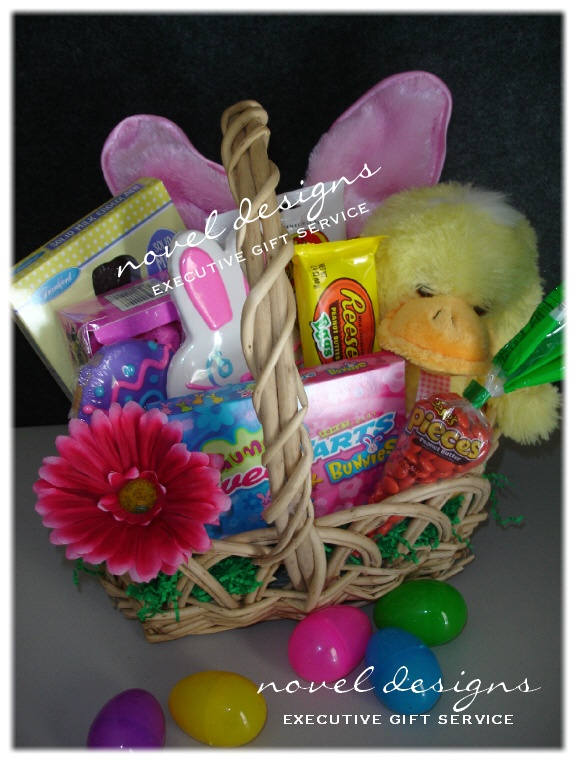 Custom seasonal gift baskets las vegas gift basket delivery novel designs llc of las vegas kids easter gift basket negle Image collections