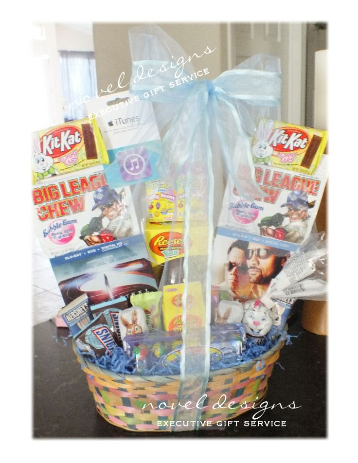 Custom seasonal gift baskets las vegas gift basket delivery novel designs llc of las vegas for my teen easter gift basket negle Gallery